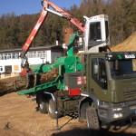 Biasi legno Jenz HEM 561 cippatura